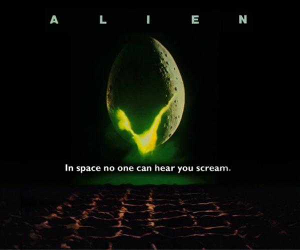 Figura 1: Poster do filme Alien, o 8º passageiro (1979). Crédito: Reprodução