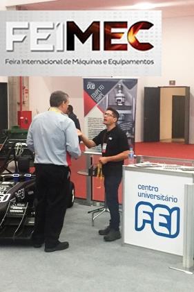 FEI leva experiência em robótica e Indústria 4.0 para feira internacional
