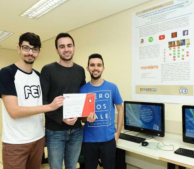 Projeto desenvolvido por alunos da FEI é premiado em evento internacional