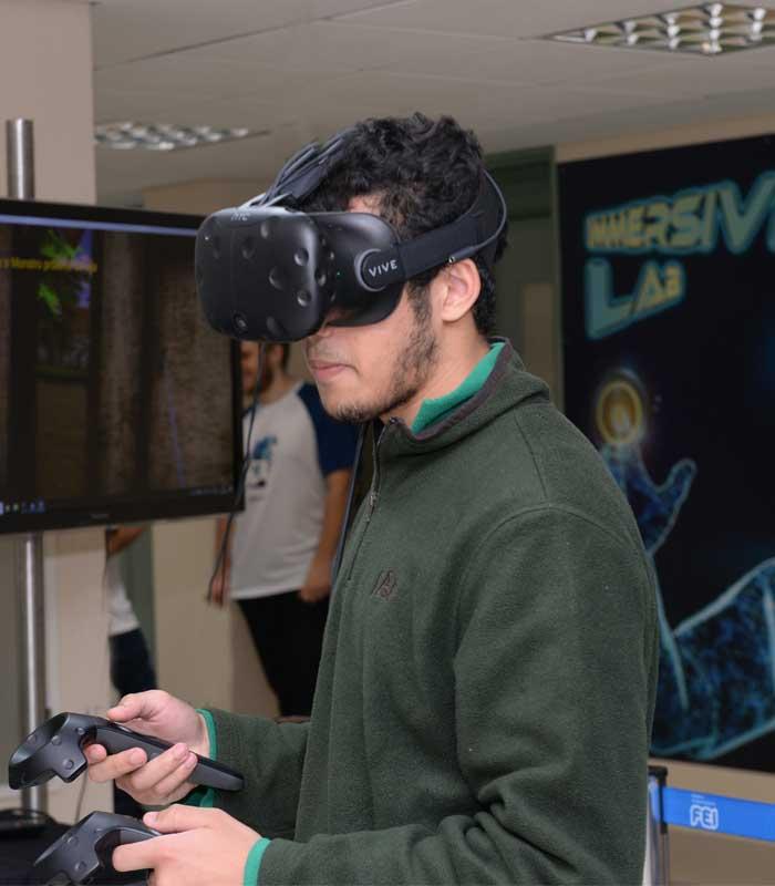 FEI abre o campus e promove atividades interativas para estudantes do ensino médio