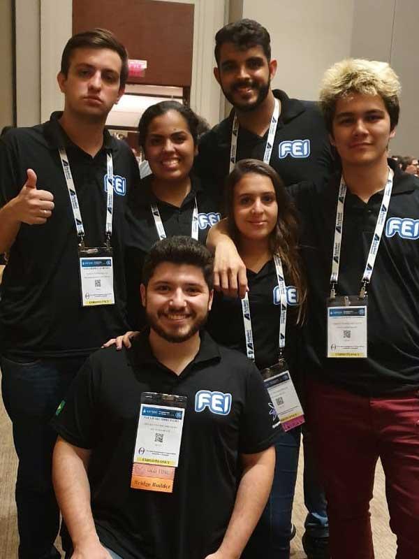 FEI conquista dois primeiros lugares em desafio internacional de Engenharia de Materiais