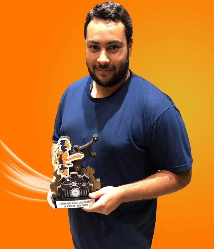 Aluno da FEI ganha prêmio de melhor tese de doutorado da Sociedade Brasileira de Computação.