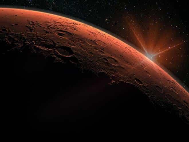 Partiu buscar vida em Marte