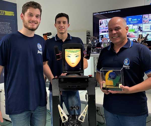 Equipe ROBOFEI recebe novo prêmio de reconhecimento nacional