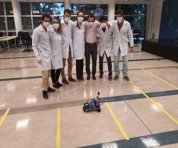 Equipe AIChE FEI recebe novo destaque mundial na Chem-E-Car Competition