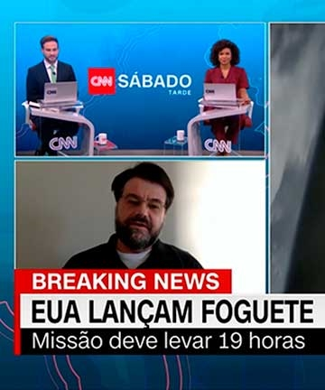 Professor da FEI é destaque na CNN Brasil