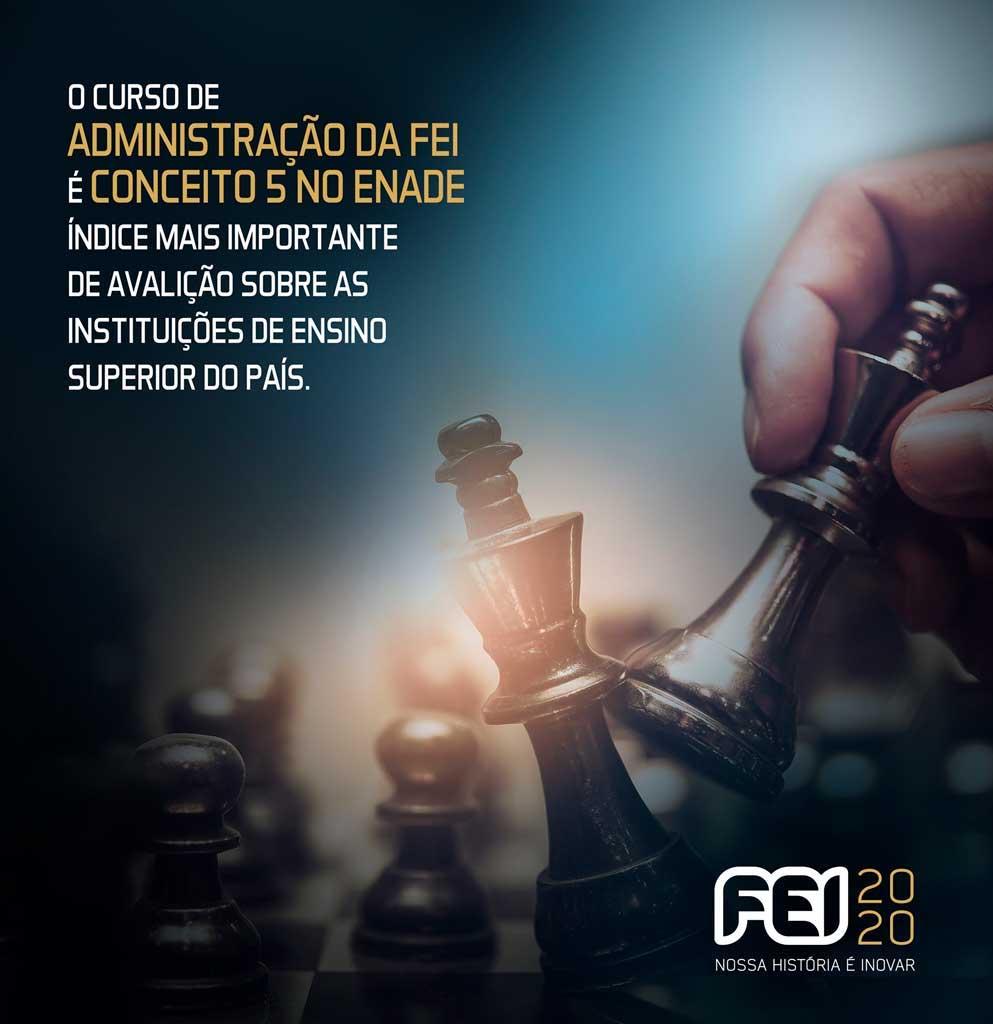 Cursos da FEI se destacam em importantes avaliações do mercado
