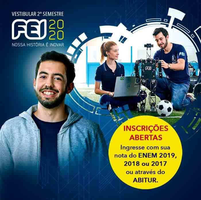 Centro Universitário FEI abre inscrições para processo seletivo de meio de ano