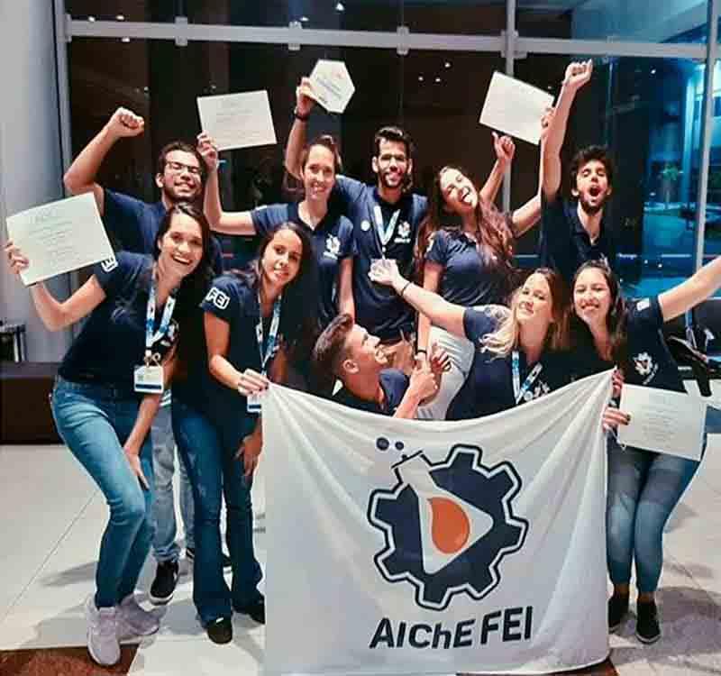 Alunos de Engenharia Química da FEI representarão o Brasil em competição Internacional