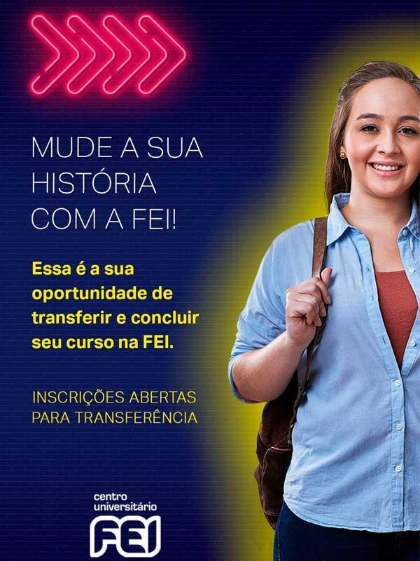 Centro Universitário FEI abre inscrições para transferência externa