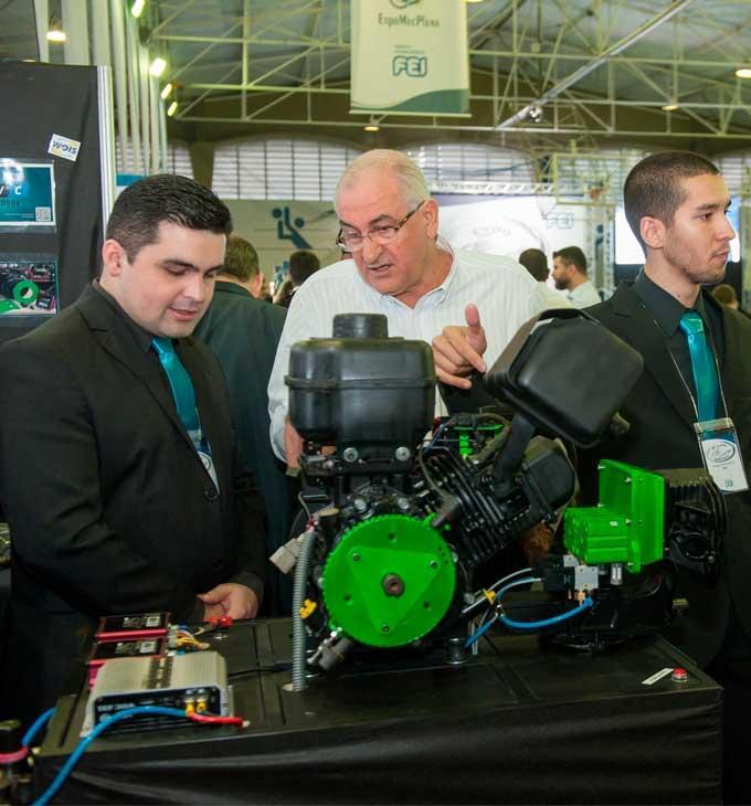 Estudantes da FEI apresentam projetos com avanços para o setor automotivo