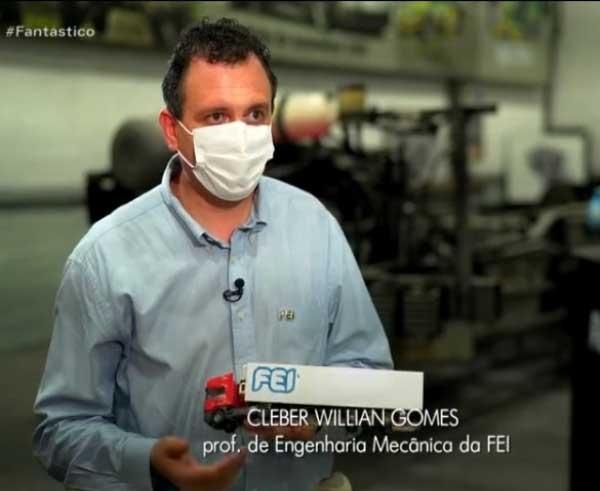 Professor de Engenharia Mecânica da FEI participa de reportagem no Fantástico