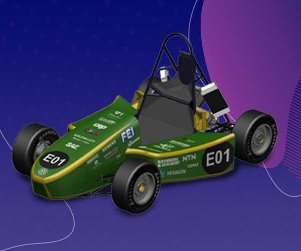 Equipe Fórmula FEI H2 recebe certificado de premiação pelo desempenho na Challenge Virtual da SAE Brasil & Siemens Automotive