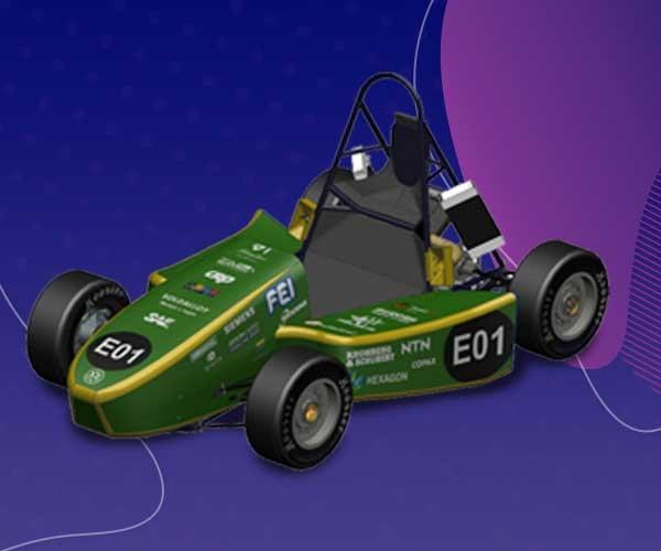Alunos de engenharia desenvolvem veículo movido a hidrogênio