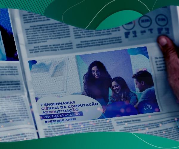 Vestibular FEI 2021 ganha destaque na reportagem do Diário do Grande ABC