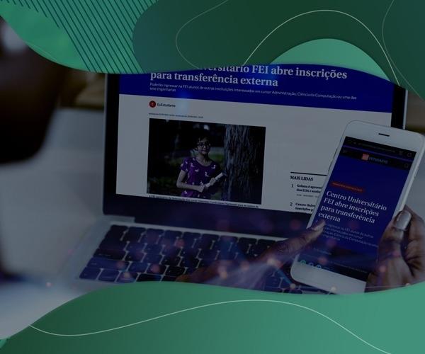 Processo para Transferência Externa e Portadores de Diploma na FEI ganha destaque no Correio Braziliense