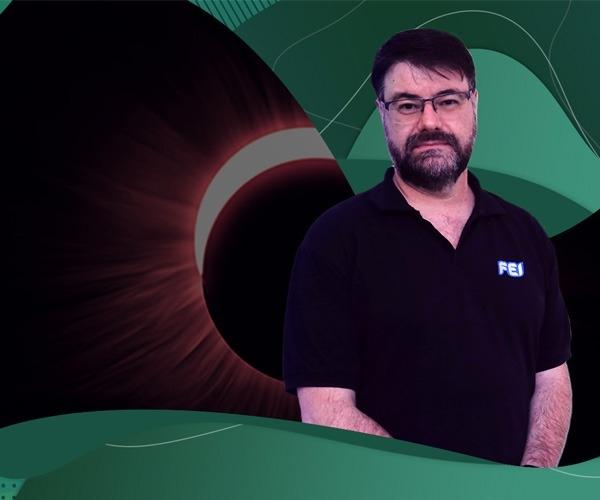 Eclipse: professor Cássio Barbosa, astrofísico da FEI, explica curiosidades do fenômeno