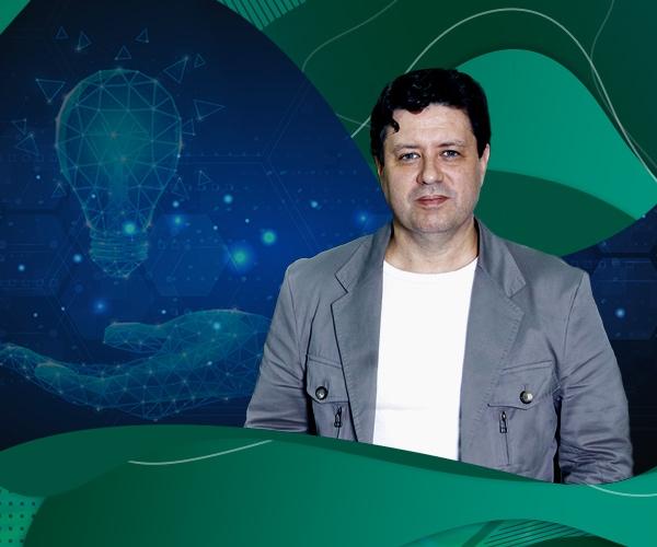 Inovação Aberta: profº Roberto Bernardes, do Depto. de Pós-Graduação em Administração da FEI, foi fonte para notícia na Record News