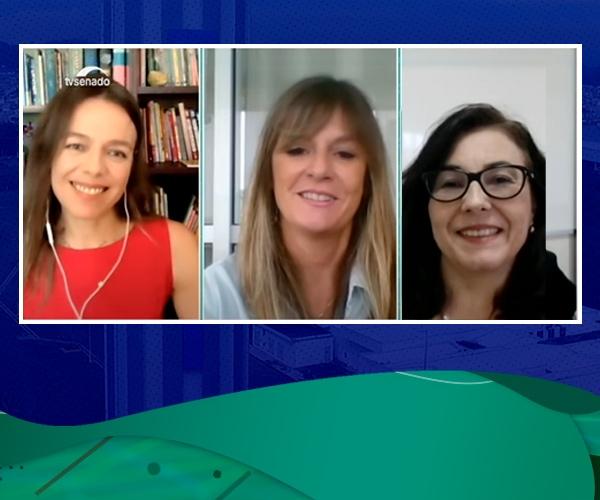Mulheres na Ciência: professoras da FEI debatem sobre o tema no programa Cidadania, da TV Senado