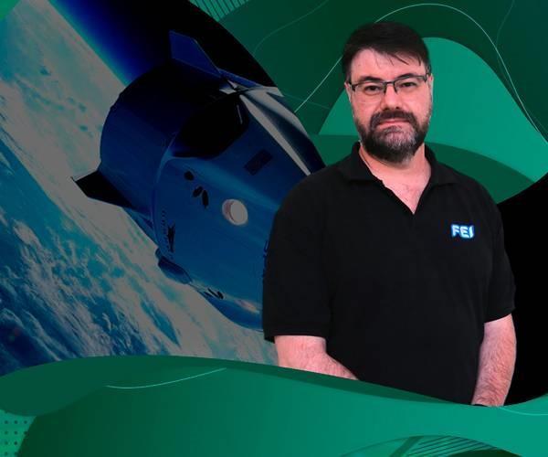 Missão Inspiration4: professor e astrofísico da FEI foi fonte para reportagem especial no O Globo